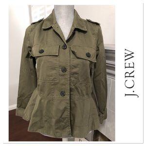 J. Crew military style jacket